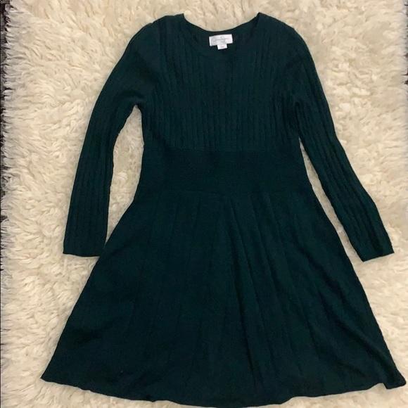 Jessica Simpson Green sweater dress